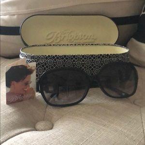 Brighton Black Sunglasses Adorned with Crystals